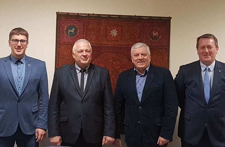 Successful and purposeful meeting of State Labor Inspectorate and Baltic Scaffolders Association representatives