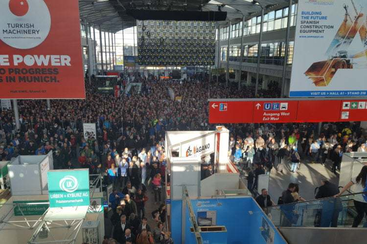 Prorentus Ltd. has participated on the international construction exhibition BAUMA2016 in Munich (Germany)